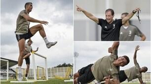 Tutti insieme appassionatamente: alla Continassa nasce la Juventus delle stelle