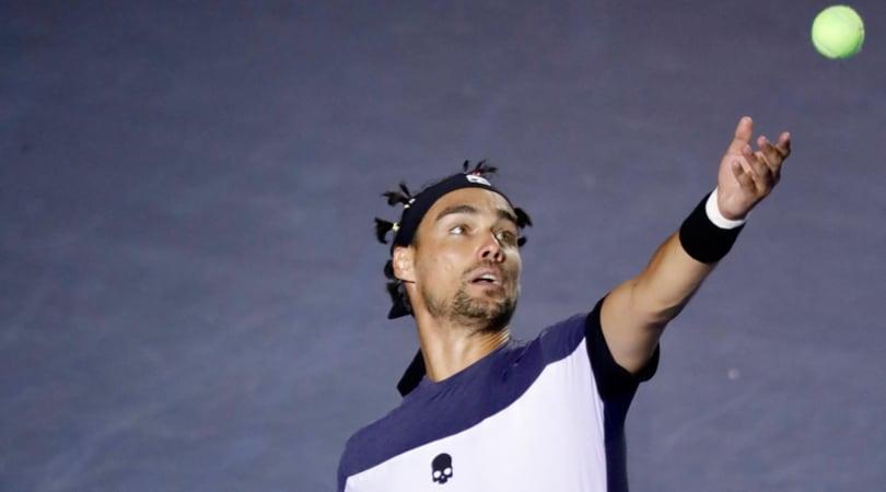 Tennis, Fognini ko con Shapovalov