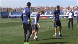 Gelo tra Modric e Florentino Perez