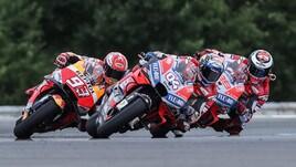 MotoGp Austria, in quota è sfida Dovizioso-Marquez