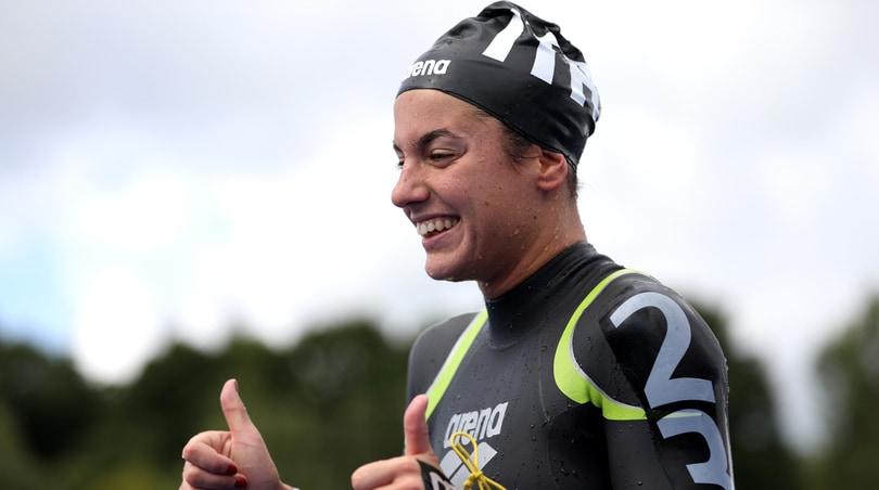 Europei di nuoto, argento per Giulia Gabrielleschi nella 10 km