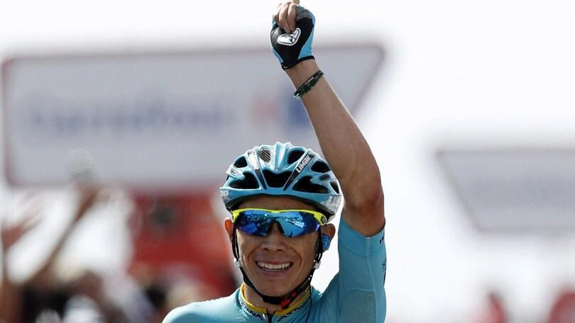 Vuelta a Burgos, Lopez vince in volata la terza tappa: è lui il nuovo leader