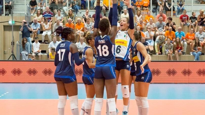 Volley: riscatto dell'Italia di Mazzanti, battuta la Turchia