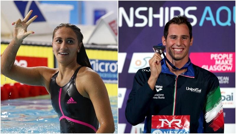 Europei nuoto, tre ori all'Italia: Codia, Panziera e Quadarella!