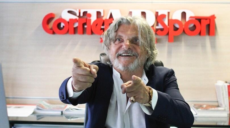 Massimo Ferrero: «Quello normale sono io»