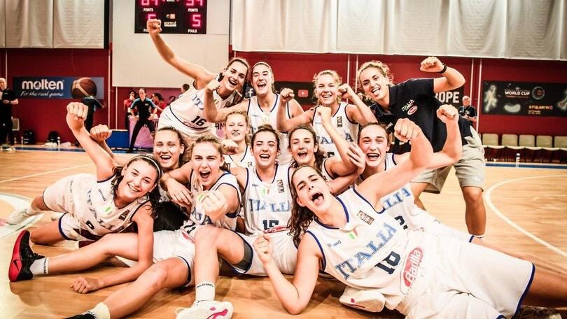 Europeo U18 Femminile: Irlanda battuta, Italia salva