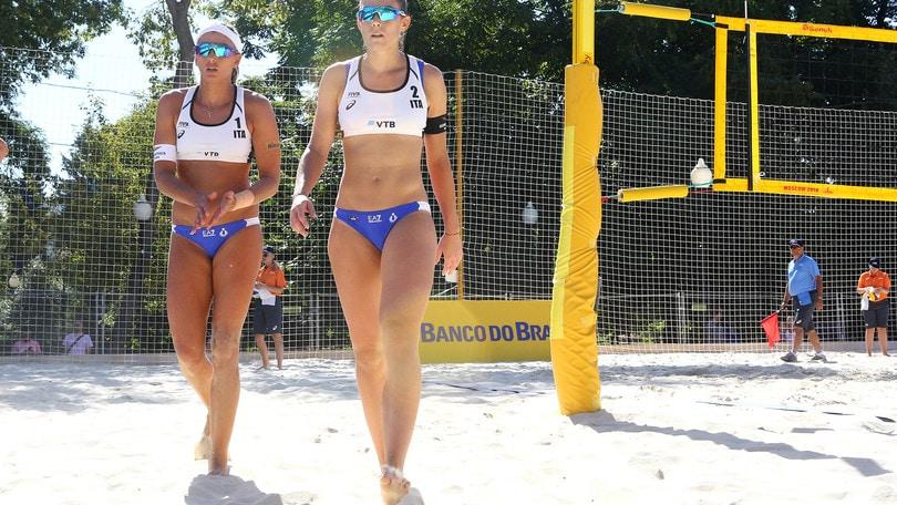 Beach Volley: a Mosca vanno avanti le coppie italiane