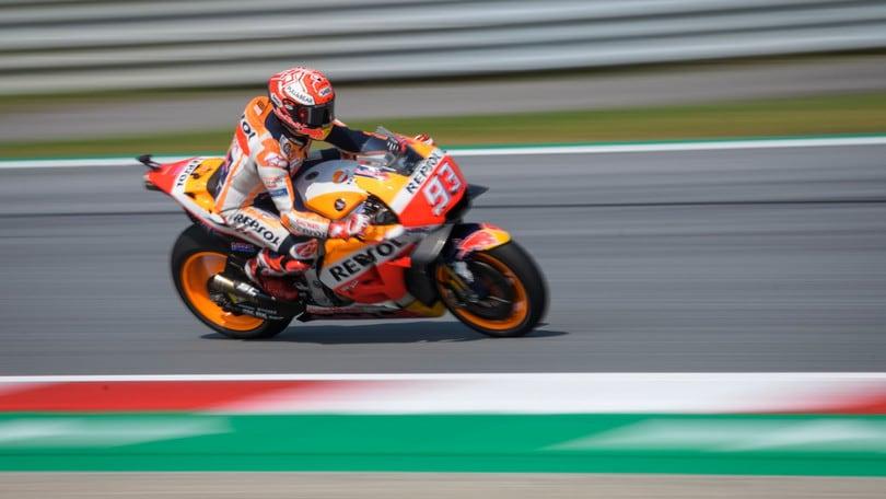 MotoGp Austria, Marquez: «Le Ducati non sono lontane»