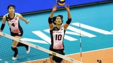 Volley: A1 Femminile, Filottrano parla giapponese, ecco Tominaga