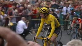 Tour, il vincitore Thomas accolto da eroe nella sua Cardiff