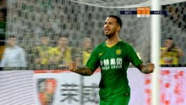 Beijing Guoan-Jiangsu Suning 3-1, gli highlights