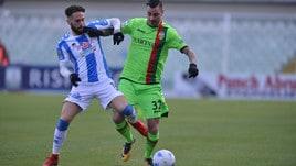 Calciomercato Frosinone, pressing su Zampano