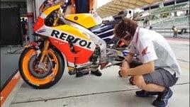 Moto Gp, Marquez primo in Austria: male Rossi