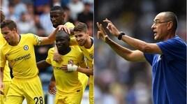 Chelsea, Sarri ok al debutto: 3-0! In gol Jorginho