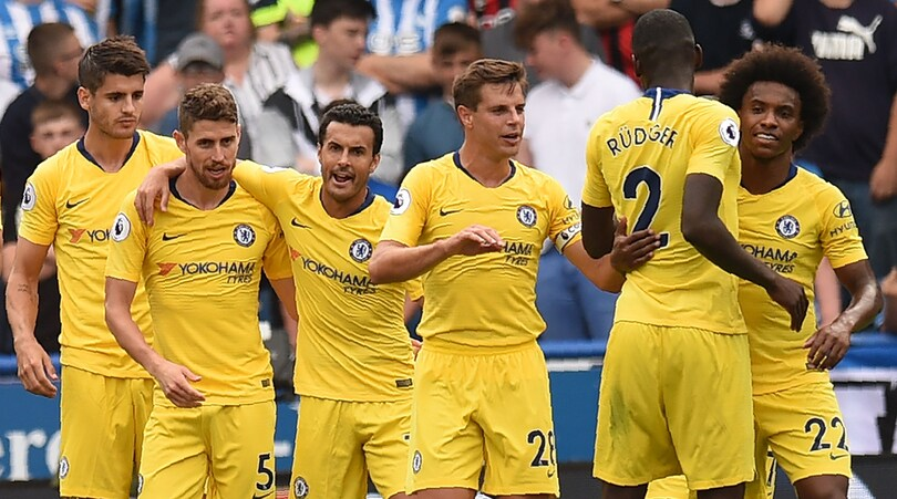 Premier League, Huddersfield-Chelsea 0-3: Sarri-Jorginho, esordio da applausi