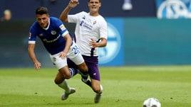 Fiorentina, tonfo in amichevole: lo Schalke ne fa 3 negli ultimi venti minuti