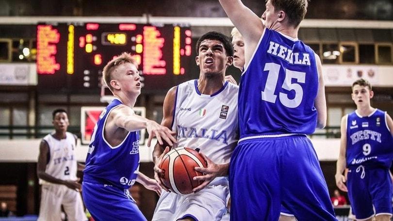 Europeo Under 16, Italia sconfitta anche dall'Estonia