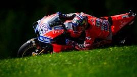 MotoGp Austria, nel warm up comanda Dovizioso, Rossi 11°