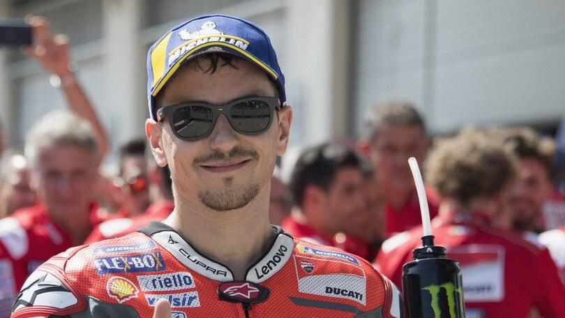 MotoGp Austria, Lorenzo è super. Rossi sesto