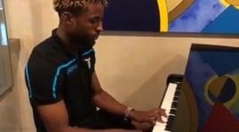 Lazio, il musicista Anderson cerca spazio nell'orchestra di Inzaghi