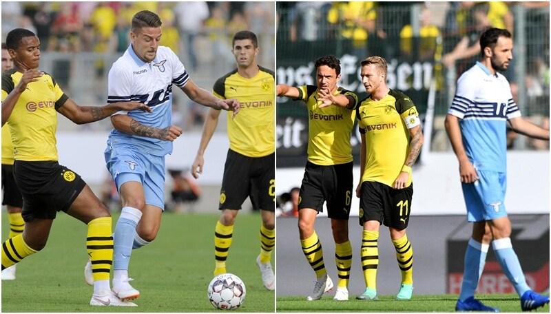 Lazio ko nell'ultimo test estivo: col Borussia finisce 1-0
