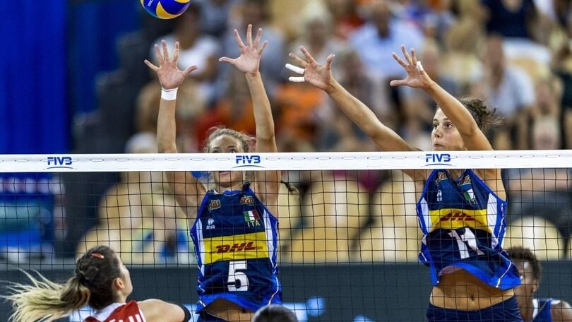 Volley: Super Series Volleyball: l'Italia è terza