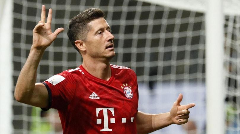 Bayern Monaco, è Lewandowski show: 5-0 all'Eintracht e Supercoppa per Kovac
