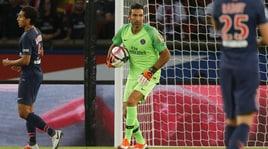 Ligue 1, Psg-Caen 3-0: Neymar, Rabiot e Weah. Sorride Buffon