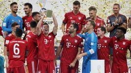 5-0 ad Eintracht,Bayern vince Supercoppa