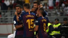 Supercoppa di Spagna, festa Barcellona in rimonta