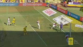 Ligue 1: Nantes, Moutoussamy sfiora l'assist da urlo