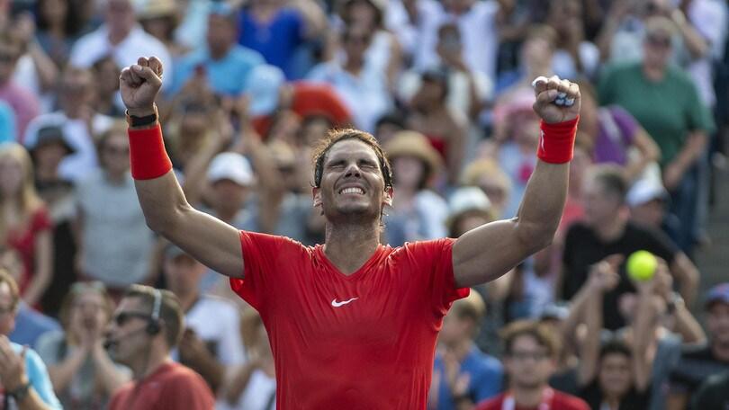 Atp Toronto, Nadal batte Tsitsipas e trionfa: per lui 80° trofeo in carriera