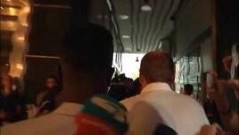 Inter, Keita esce dall'albergo