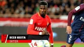 Inter, Keita sbarca a Milano