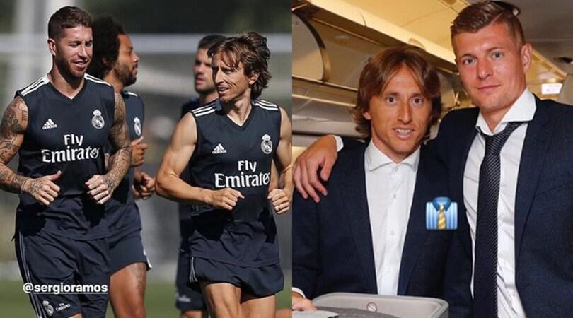 Inter, Modric si allontana: convocato dal Real Madrid per la Supercoppa Europea