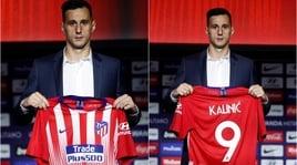 Atletico Madrid, presentato alla stampa Nikola Kalinic