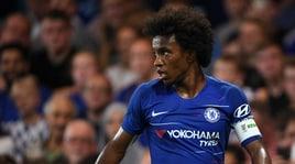 Chelsea, Willian in tackle su Conte:«Con lui non sarei rimasto»