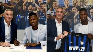 Visite e firma: il primo giorno di Keita all'Inter