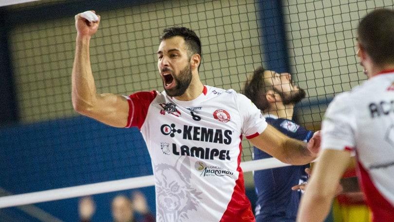 Volley: A2 Maschile, l'esperto Miscione firma per la Fonteviva