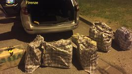 Droga: scoperto carico 756 kg hashish