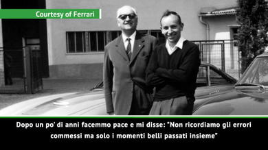 Enzo Ferrari, Surtees lo ricordava così...