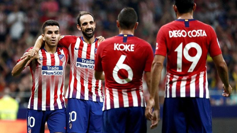 Supercoppa europea, Atletico Madrid: il colpo con il Real vale 2,00