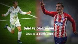 Bale vs Griezmann - Leader a confronto