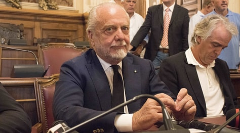 De Laurentiis, auguri di Ferragosto ai tifosi di Napoli e Bari