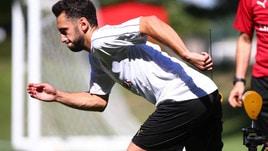 Serie A Milan, Calhanoglu: «Con l'arrivo di Gattuso ho iniziato a giocare meglio»