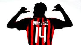 Milan, Bakayoko con la nuova maglia