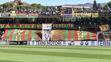 Ternana, nuovo ricorso per il ripescaggio in Serie B