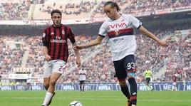 Milan, preso Laxalt dal Genoa: giovedì le visite