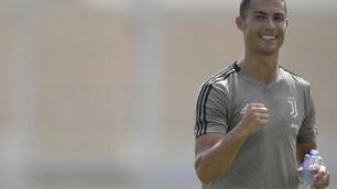 Cristiano Ronaldo, un altro gol: la Juve vince 8-0 con l'Under 23
