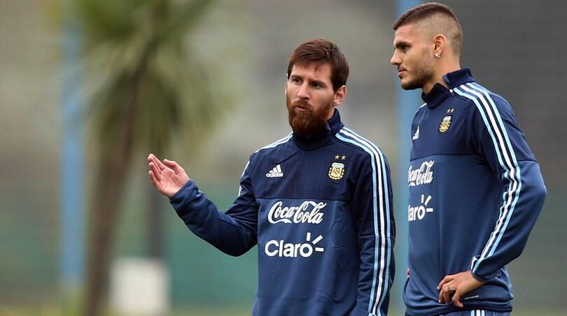 Argentina, Messi saluta per ora: Scaloni chiamerà Icardi